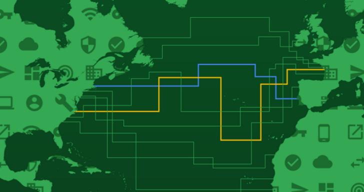 Google不但投資海底電纜,這次還自己鋪設橫跨大西洋的Dunant