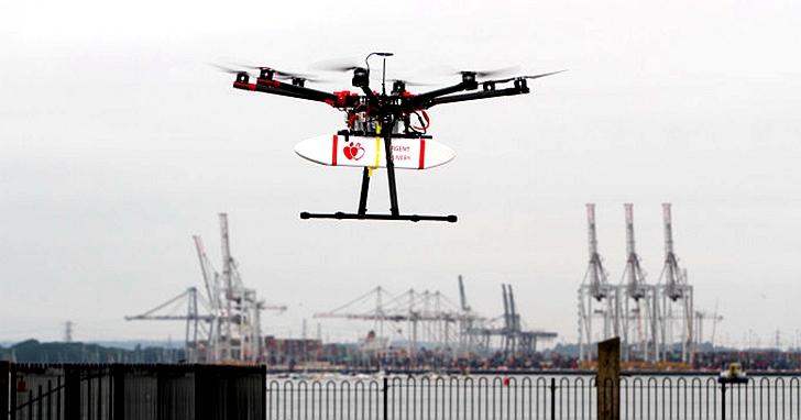 英國:無人機如何造福城市?這五個方面值得關注