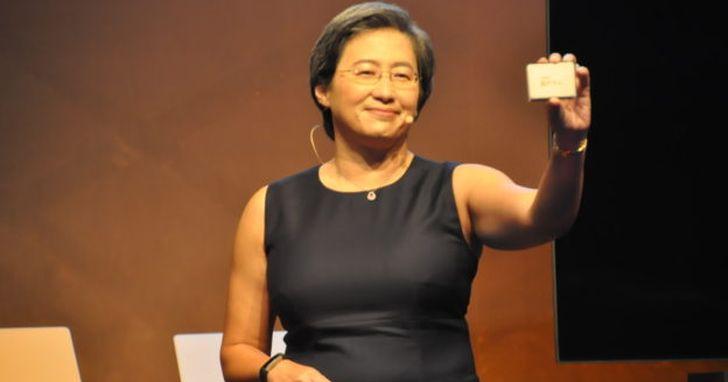 AMD 蘇姿豐:永遠不低估對手,但對自家產品優勢充滿信心