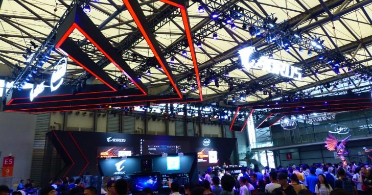 Intel 上海 ChinaJoy 行番外篇,Acer Predator、Asus ROG、GIGABYTE AORUS 的現在進行式
