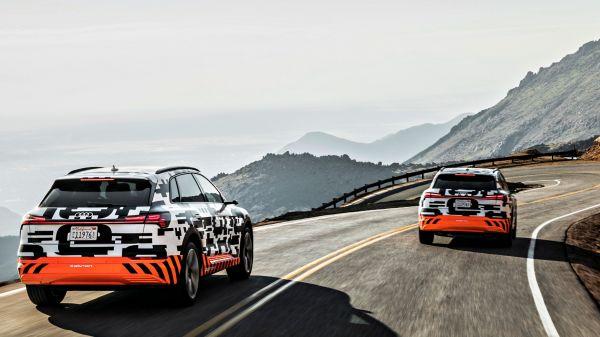 Audi e-tron prototype 超高效電能回充系統規格釋出,預告九月正式亮相!