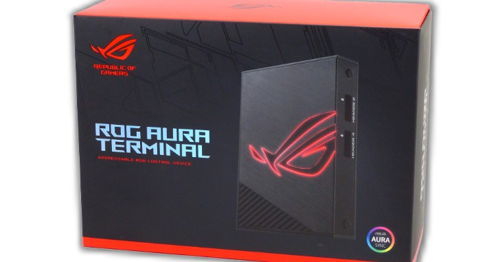 Asus ROG Aura Terminal 不僅加裝 Aura Sync,還有 ROG Halo 融合螢幕畫面情境動手玩