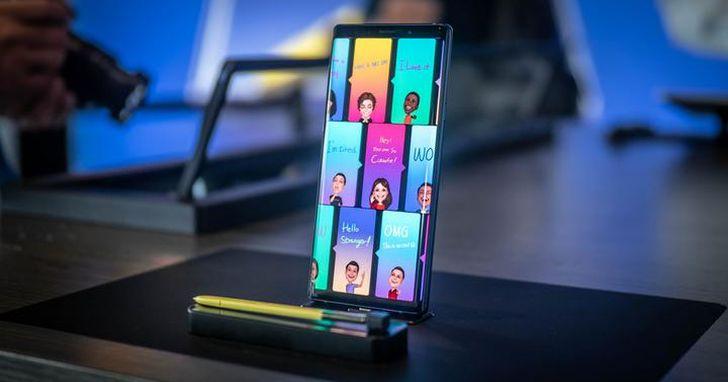 DisplayMate 實測 Note 9 的SuperAMOLED 螢幕給了「9個最好」,評為目前最佳的手機螢幕