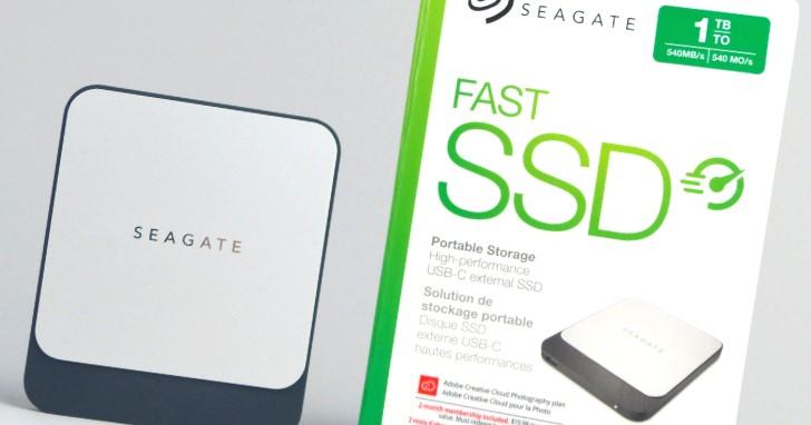 大容量外接隨身 SSD 輕便帶著走,享有免費資料救援服務的 Seagate Fast SSD 1TB 動手測