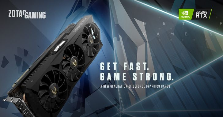 ZOTAC GAMING隆重推出最新一代GeForce RTX 20顯示卡系列