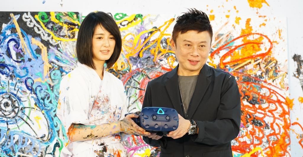 HTC VIVE 攜手日本藝術家小松美羽打造 VR 互動藝術