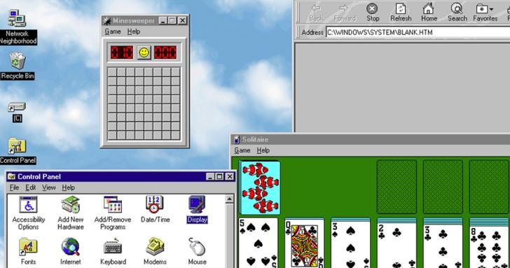 網友開發 Windows 95 可獨立執行應用程式,容量僅 129MB,可在 macOS,Windows 10、Linux下執行