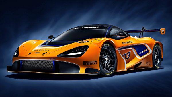 只為賽道動情,McLaren 720S GT3 賽車兇悍亮相