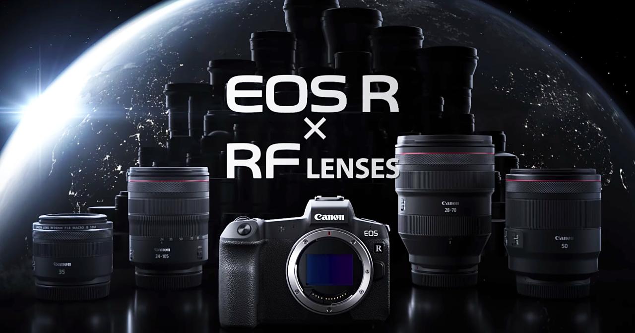 Canon EOS R 正式登場!設計功能與特點總整理