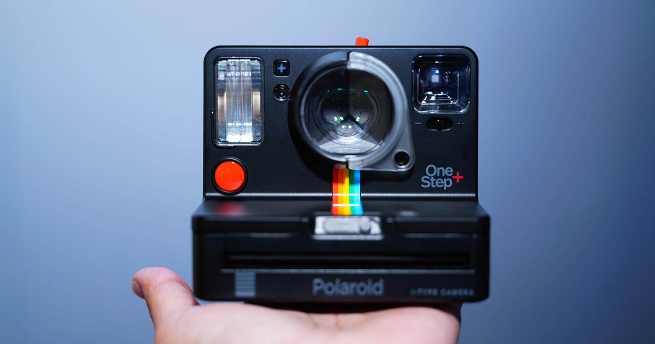 拍立得新玩法!重曝/光繪/聲控/手動模式 Polaroid OneStep+ 在台推出