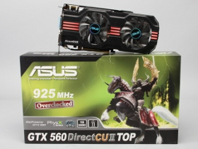 Asus ENGTX560 DCII TOP評測,時脈最高的GTX 560