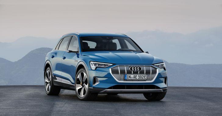 奧迪發表首輛純電車款Audi e-tron,正式進入純電新世代