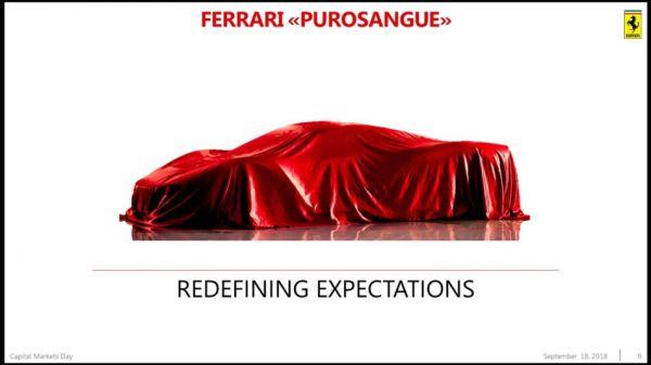 排定 2022 年前問世,Ferrari「躍馬休旅」正式定名 Purosangue,矛頭指向 Lamborghini Urus!