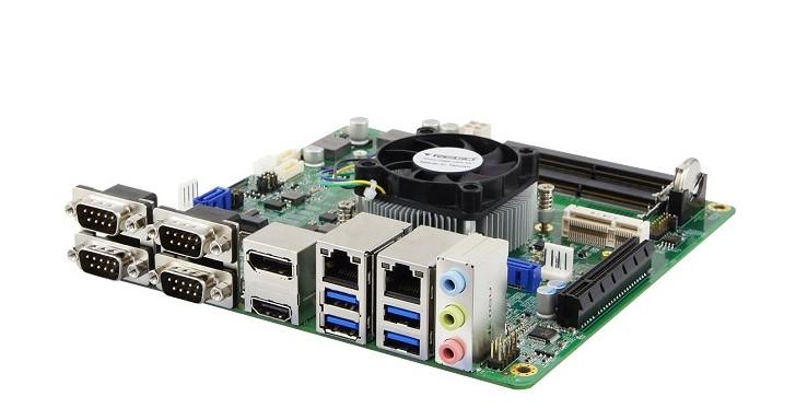 iBASE推出多款Ryzen Embedded V1000系列Mini-ITX主機板,最高搭載Vega 11繪圖處理器