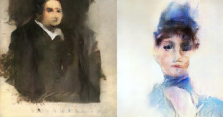 AI 畫的畫作要上佳士得拍賣了,起拍價1萬歐元!