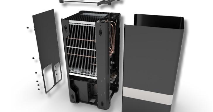 Core i7-8700K 和 GeForce GTX 1080 被動散熱!MonsterLabo 推出 The First SFF 機殼
