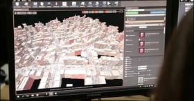 利用 Goolge Map 和 「城市產生器」快速將伊斯坦堡變成了「沉沒之城」
