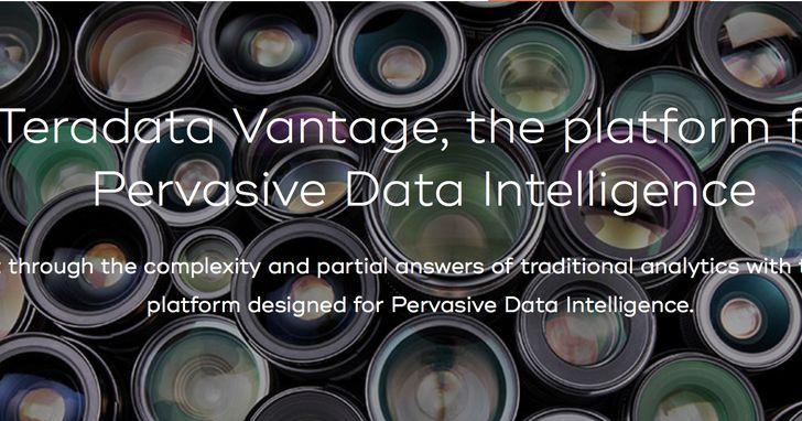 Teradata天睿推出Vantage平台,助企業橫跨雲端、地端實踐資料智慧