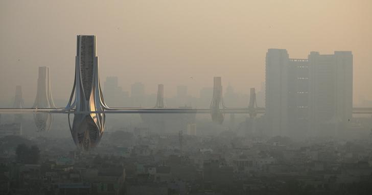 杜拜擬造巨型除霾塔, 每天淨化320萬立方公尺清潔空氣