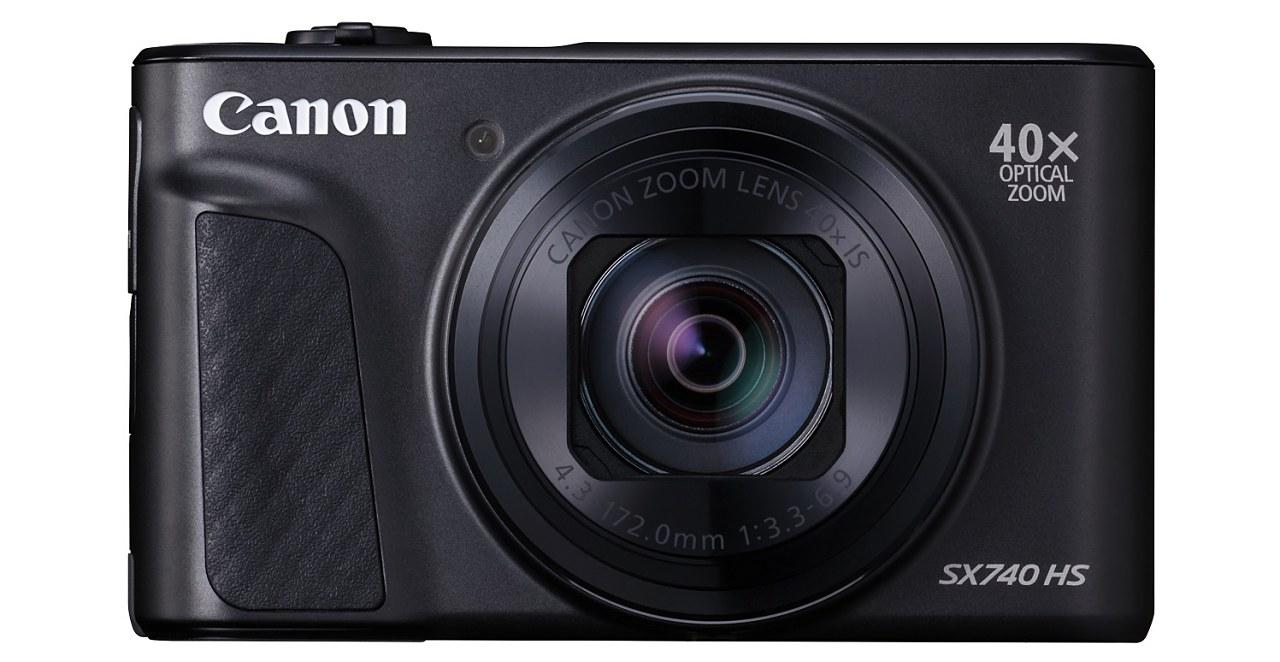 Canon推出40倍變焦隨身機 PowerShot SX740 HS 售價11,990元