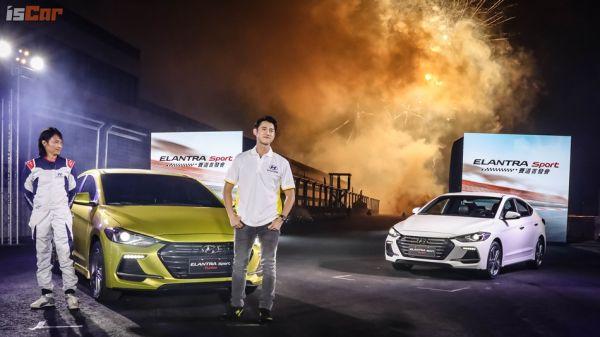 國產性能房車第一槍,Hyundai Elantra Sport降臨麗寶賽車場, 79.9萬元起飆速上市!
