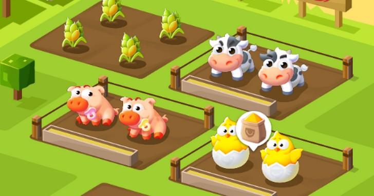 中國社群廠商推出一款類「開心農場」小遊戲,在遊戲中種的菜可以兌換成真正的食物