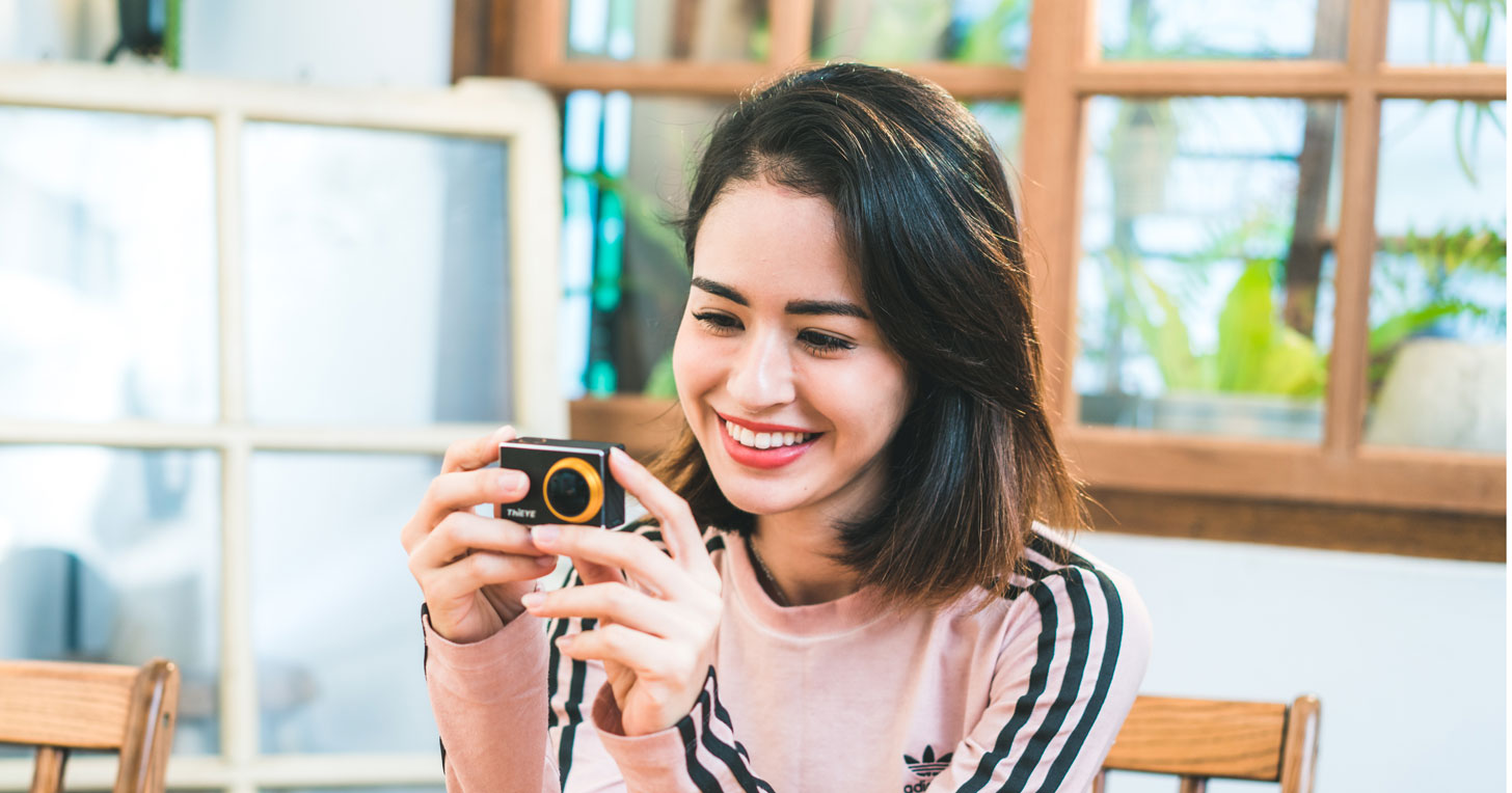 本月T人物│ThiEYE V6 開箱評測~是運動相機,也是隨手拍下生活記錄的利器!知名藝人雷艾美 Emmie Ries 產品體驗心得分享!