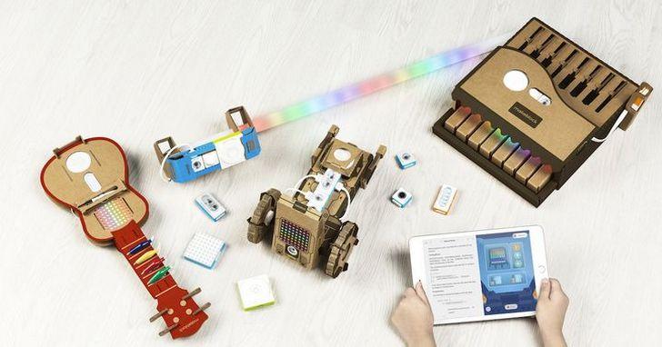 當年在創客時代以模組化機器人電子積木闖出名號的 Makeblock ,現在又推出了新的電子積木平台