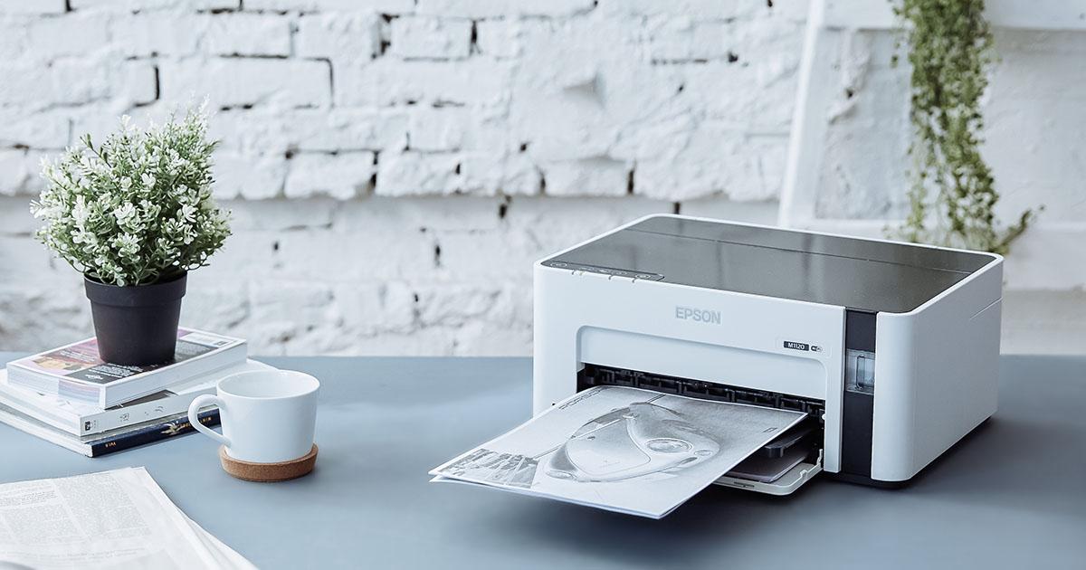 絕對精省的 Epson M1120 黑白高速 Wi-Fi 連續供墨印表機:取代老舊黑白雷射印表機就靠它!