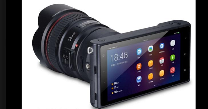 生產閃燈配件的永諾推出一款無反單眼相機,支援Canon EF 鏡頭