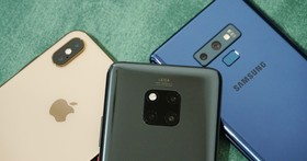 旗艦三強 PK 戰,HUAWEI Mate20 Pro / iPhone XS MAX / Samsung Note 9 攝影比一比