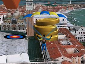 教你如何在 Google Earth 裡玩跳傘遊戲