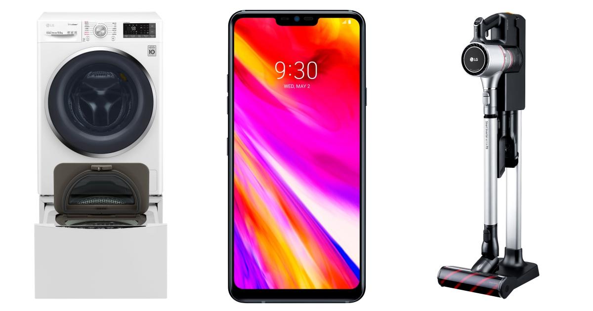 LG 資訊月促銷,家電、筆電、手機、電視全產品促銷