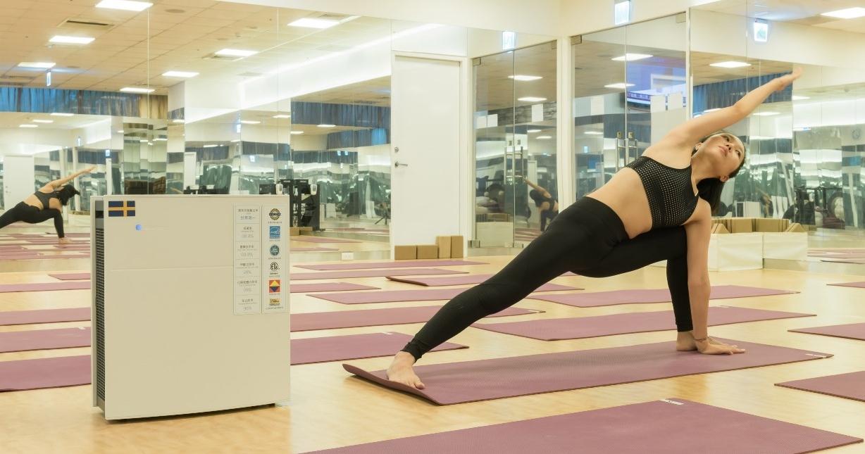 Blueair 空氣清淨機買大送小,再送 Ture Yoga 體驗券