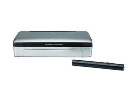 HP Officejet 100 Mobile 印表機:輕巧、可裝電池,適合戶外使用