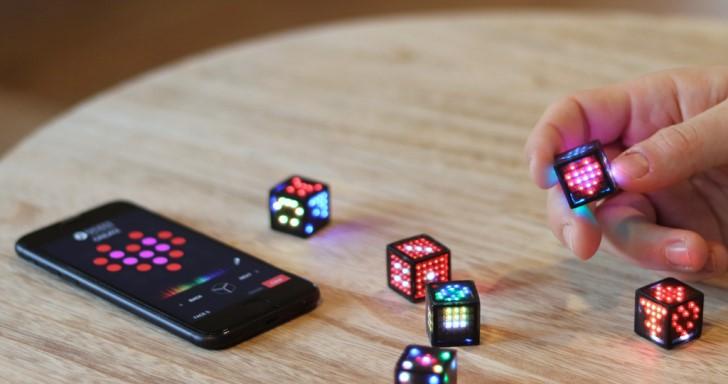 骰子也沾電競風,Dicees炫彩骰子還能電子計分