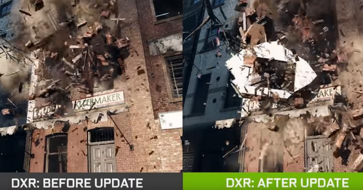 NVIDIA與DICE共同推出《戰地風雲5》更新程式,提升50%DXR效能