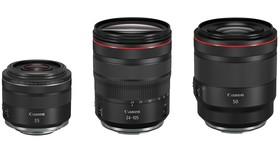 Canon 三款 EOS R 鏡頭在台上市:RF 50 F1.2/35 F1.8/24-105 F4