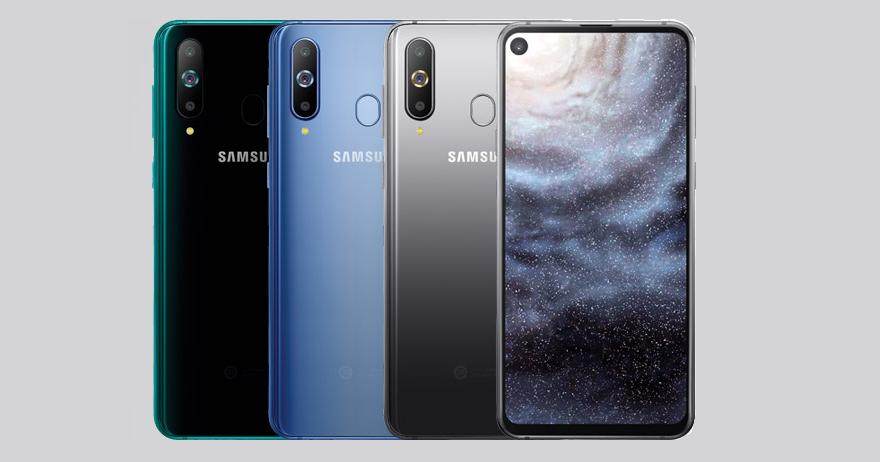 螢幕上有洞的手機來了,三星在中國推出 Galaxy A8s