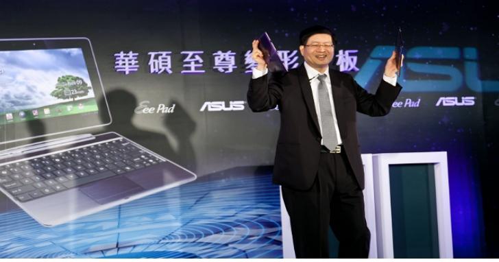 華碩執行長沈振來宣布辭職,施崇棠宣布啟動雙執行長制、矢志成為電競及AIOT產業王者