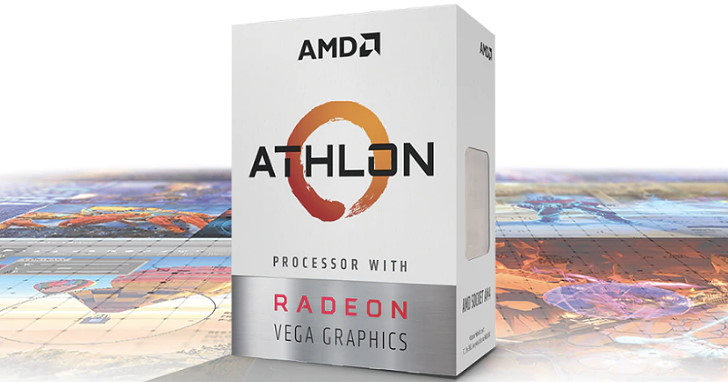 AMD Athlon 220GE 與 Athlon 240 GE 正式推出,TDP 35W 被動式散熱 HTPC 再添生力軍
