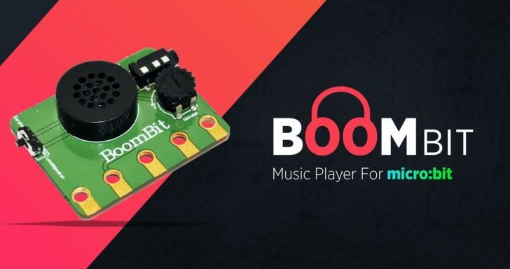 1000元BoomBit套件,利用micro:bit開發板製作可程式化迷你無線音箱