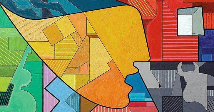 一幅畢卡索風格的訊息圖獲獎了,講的是畢加索繪畫的故事