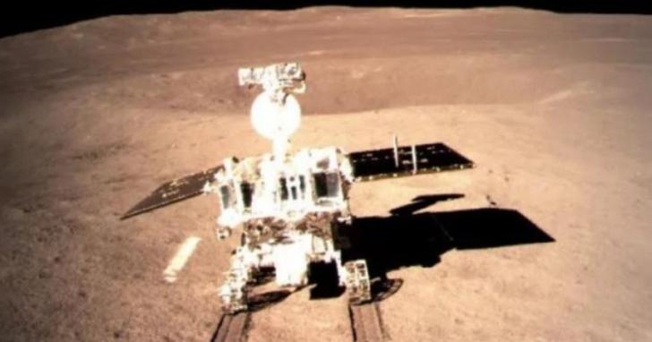 月球背面留下第一道「腳印」,「玉兔二號」探月車正式展開月球背面探測任務