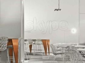 Skype 辦公室的優雅創意