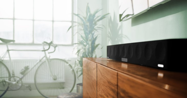 Sennheiser新款Ambeo Soundbar,單件喇叭帶來5.1.4聲道環繞效果