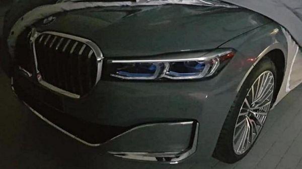 BMW 7 Series小改款車頭照流出,預計三月日內瓦車展正式現身!