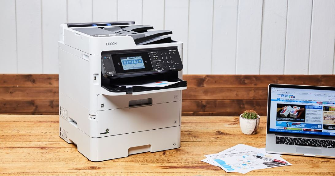 Epson WorkForce Pro WF-C579R 省彩印微噴影印機實測:節能環保、不佔空間的多功能商務好幫手