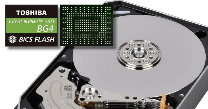 努力塞就對了!Toshiba MG08 16TB 3.5 吋傳統硬碟與 BG4 1TB M.2 1620/2230 SSD 再創容量紀錄