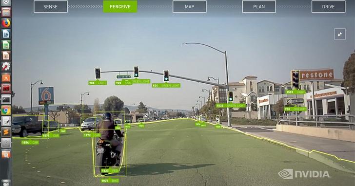 NVIDIA推動安全自動駕駛,DRIVE Software 8.0造就環境感知與AR功能